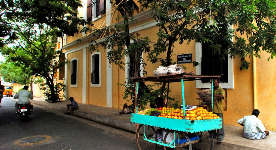 Pondicherry French Colonial Architecture
